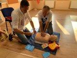 Předání a zaškolení AED - automatický externí defibrilátor